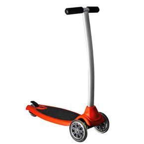 Phil And Teds Patinete Acoplable Freerider Naranja