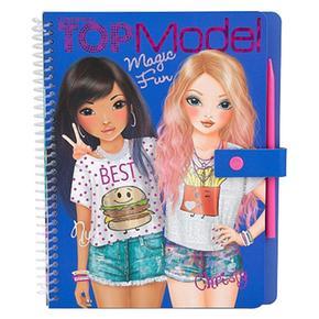 Top Model – Cuaderno Para Colorear Magic Fun