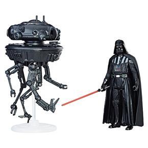Star Wars – Probe Droid Y Darth Vader – Vehículo Clase A 9 Cm