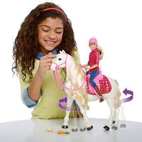 Y Barbie Caballo Y Superinteractivo Barbie QrxoEeWdCB