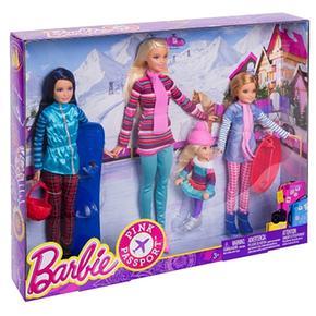 Hermanas Barbie Sus La Vacaciones Nieve Y En SVzpUM