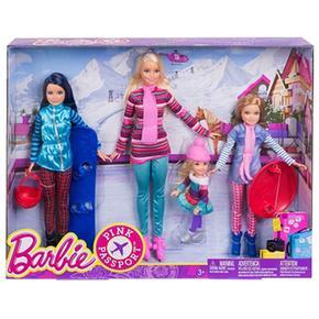Barbie Sus En Nieve La Y Hermanas Vacaciones tBrhsCQdxo