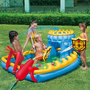 Piscina castillo inflable siege play pool bestway for Piscina inflable bestway