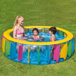 Piscina inflable multicolor bestway for Piscina inflable bestway