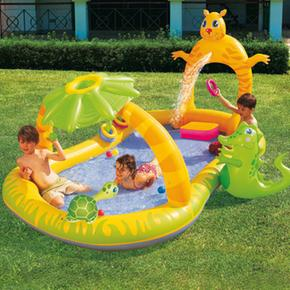 Piscina inflable jungla safari play pool bestway for Piscina inflable bestway