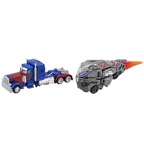 Transformers – Optimus Prime Y Cybertron Figuras Deluxe