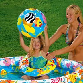 Piscina Intex Y Pelota Fishbowl Con Flotador xBshQrotdC