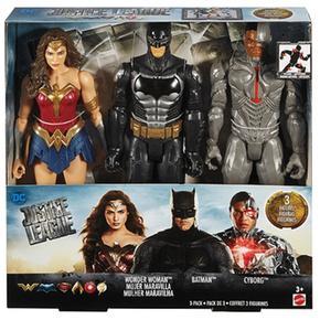 De La Maravilla BatmanMujer Y Cm Liga Pack 30 Cyborg 3 Justicia fYyb6gv7