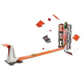 Pista Hot Kit Vehículo De Demolición Con Wheels kwnOP08