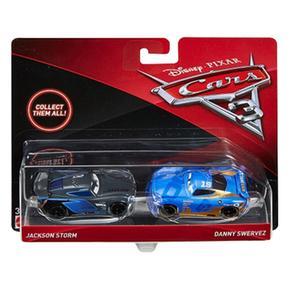 Cars Storm Danny 3 Y Jackson 2 Swervez Coches Pack LSAq354jcR