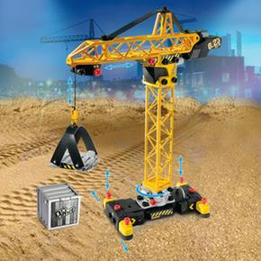 No Limit Set Construccion 2 Gruas Smoby