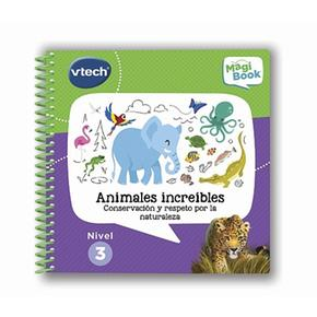 Vtech – Libro Animales Increibles Magibook