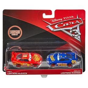 Mcqueen 3 Cars 2 Pack Coches Rayo 8n0kXwPO
