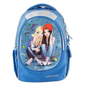 Top Model – Mochila Escolar Soft Friends Azul