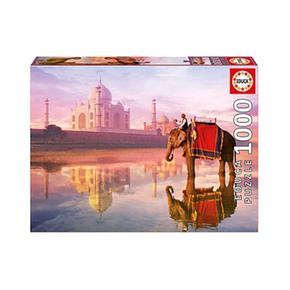 - Elefante En La Taj Mahal – Puzzle 1000 Piezas Educa Borras