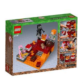 21139 El Minecraft En Infierno Lego Combate ZiukwPXTO