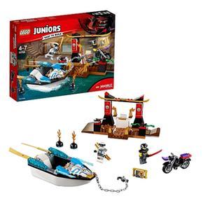 Ninja Persecución La Zane En 10755 Lego Junior De Lancha dBsQrxthC