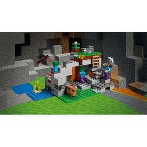 Zombies Lego La 21141 De Cueva Minecraft Los n0P8kwO