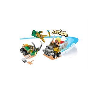 Lego Heroes Micros Vs Loki 76091 Super Thor Mighty 1cJlFK