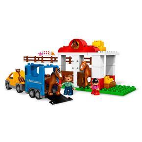 Establo Caballos Lego Duplo Lego De jLGSpqMUVz