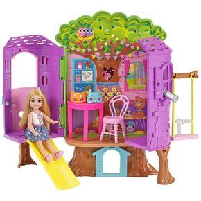 Del Casita De Chelsea Barbie Árbol NnOym8v0w