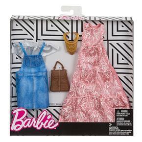 Rosa Barbie 2 Vestido Pack Modas Y Vaquero EWDHI92