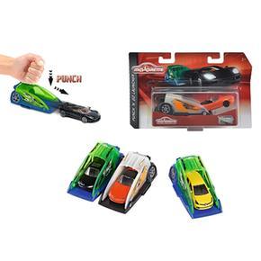 - Lanzador Punch N Go Launcher Con Coche (varios Modelos) Majorette