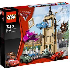 Lego Cars 2 Incursion Desde El Big Bentley