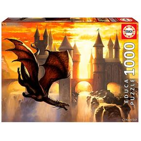 Educa Borrás – Dragón – Puzzle 1000 Piezas