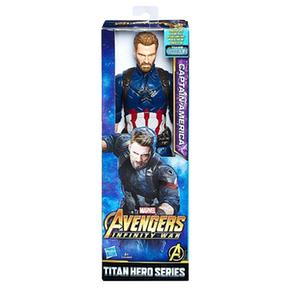 Los Vengadores – Capitán América – Figura Titan Hero 30 Cm