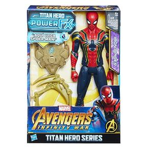 Los Vengadores – Spider Man – Figura Y Mochila Power Fx