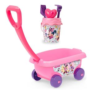 Smoby – Minnie Mouse – Carrito Playa