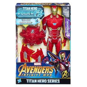 Los Vengadores – Iron Man – Figura Y Mochila Power Fx