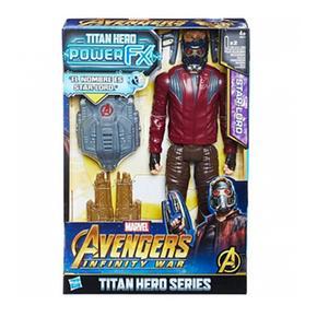 Los Vengadores – Star Lord – Figura Y Mochila Power Fx