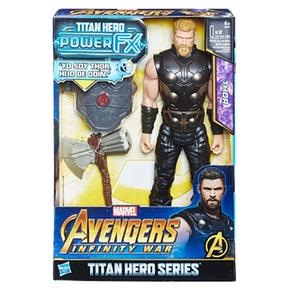 Los Vengadores – Thor – Figura Y Mochila Power Fx