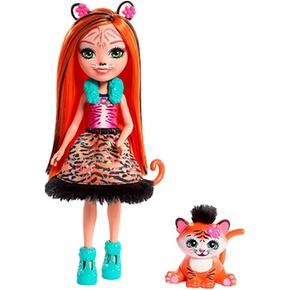 Enchantimals – Tanzie Tiger – Muñeca Y Mascota