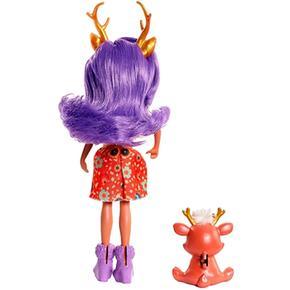 Deer Muñeca Y Enchantimals Mascota Danessa OkP08nw