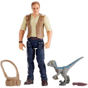 Jurassic World – Owen Y Baby Blue – Figura Básica