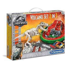 Jurassic World – Arqueojugando T-rex Y Volcán
