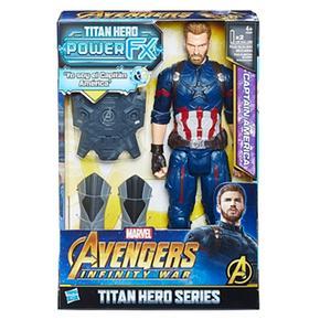Los Vengadores – Capitán América – Figura Y Mochila Power Fx