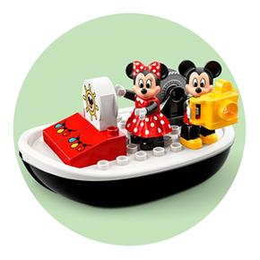 De Lego 10881 Mickey Duplo Barco 5Ajc4R3LqS