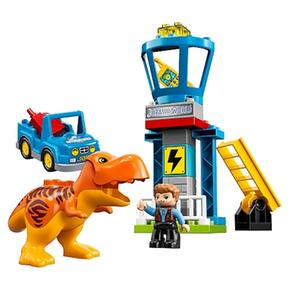 Del 10880 Lego TRex Torre Duplo WDE2Y9IH