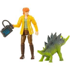 Jurassic World – Claire Y Estegosaurio – Figura Básica