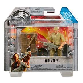 Jurassic World – Batalla De Wheatley Cazador De Trofeos – Figura Básica