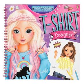 Top Model – T-shirt Designer Cuaderno Para Colorear