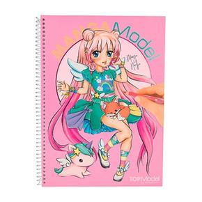 Top Model – Libro De Colorear Mangamodel