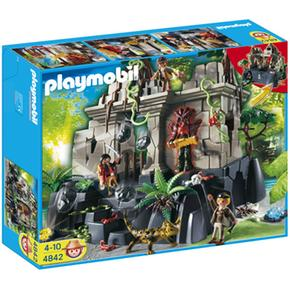 Con Guardianes Playmobil Del Tesoro Templo qGVpzMSU