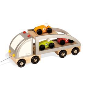 Camión Estirar Janod Coches Transporta A 35LqRcA4Sj