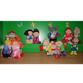 Abuela Mano Grises Cabellos De Marioneta FTl1cKJ