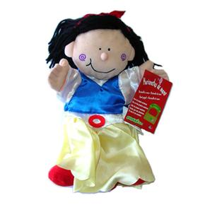 Marioneta de mano blanca nieves - Como hacer marionetas de mano ...